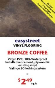 Vinyl BRONZE COFFEE