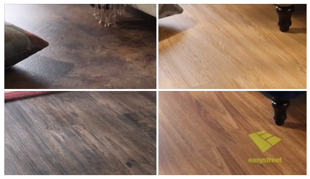 Examples of various hardwood flooring styles
