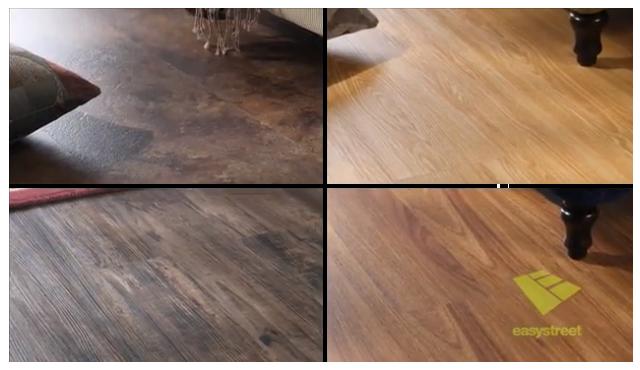 Examples of various hardwood flooring styles