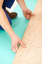 Example of plywood floor