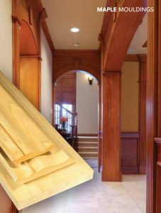 maple Wood Mouldings