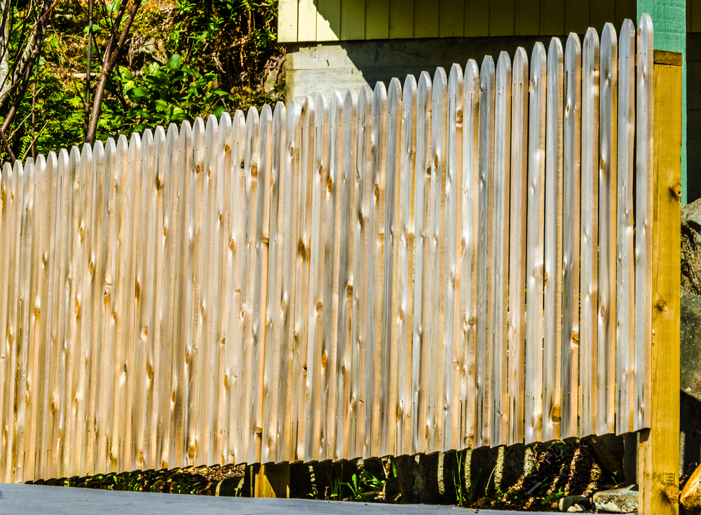 Calgary s treated wood fencing materials